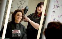 Klientka u fryzjerki